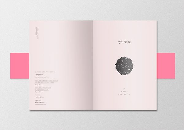 synthzine #1 on Behance