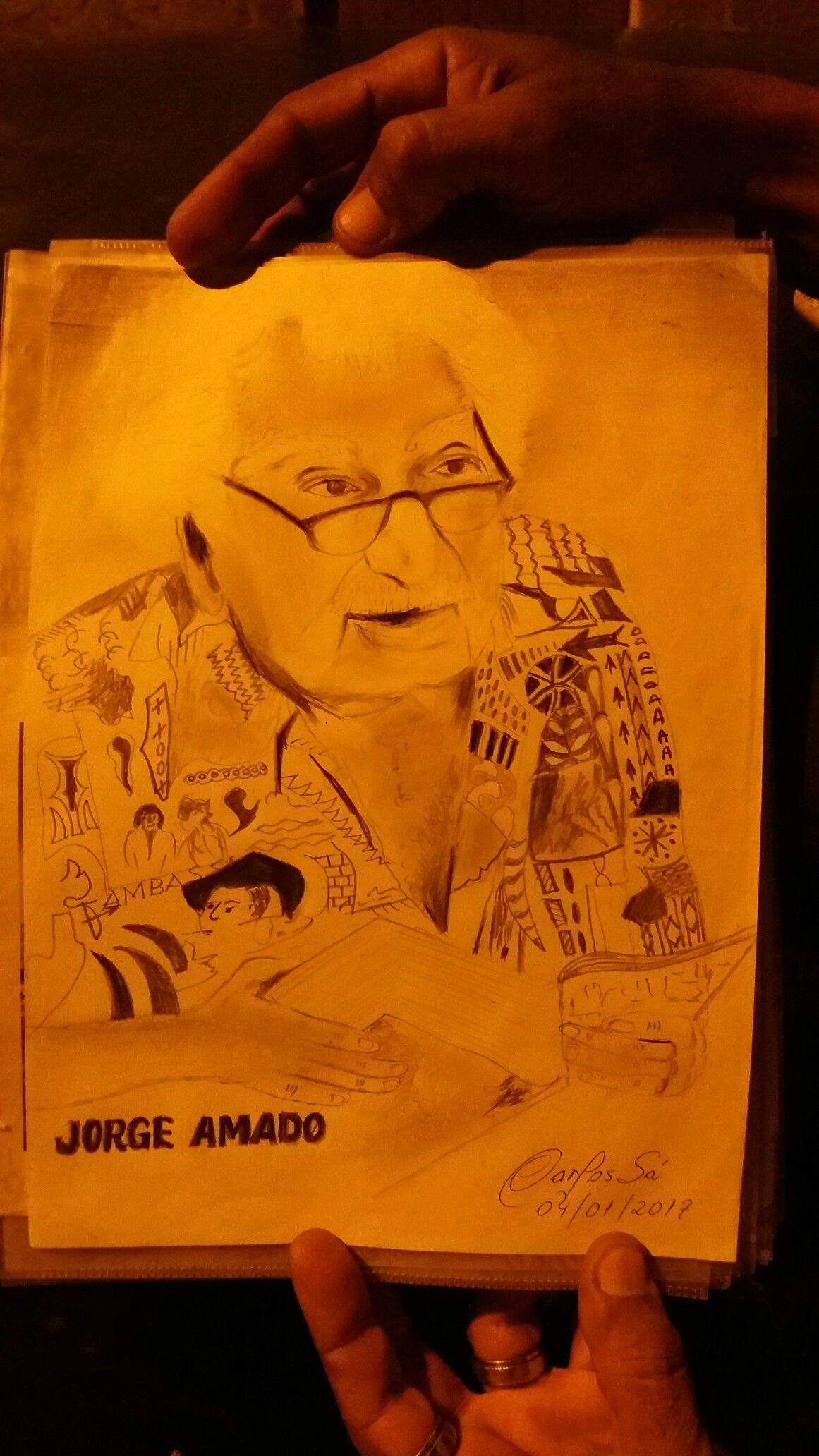 Carlos Sá  Artista plástico Baiano Cacau