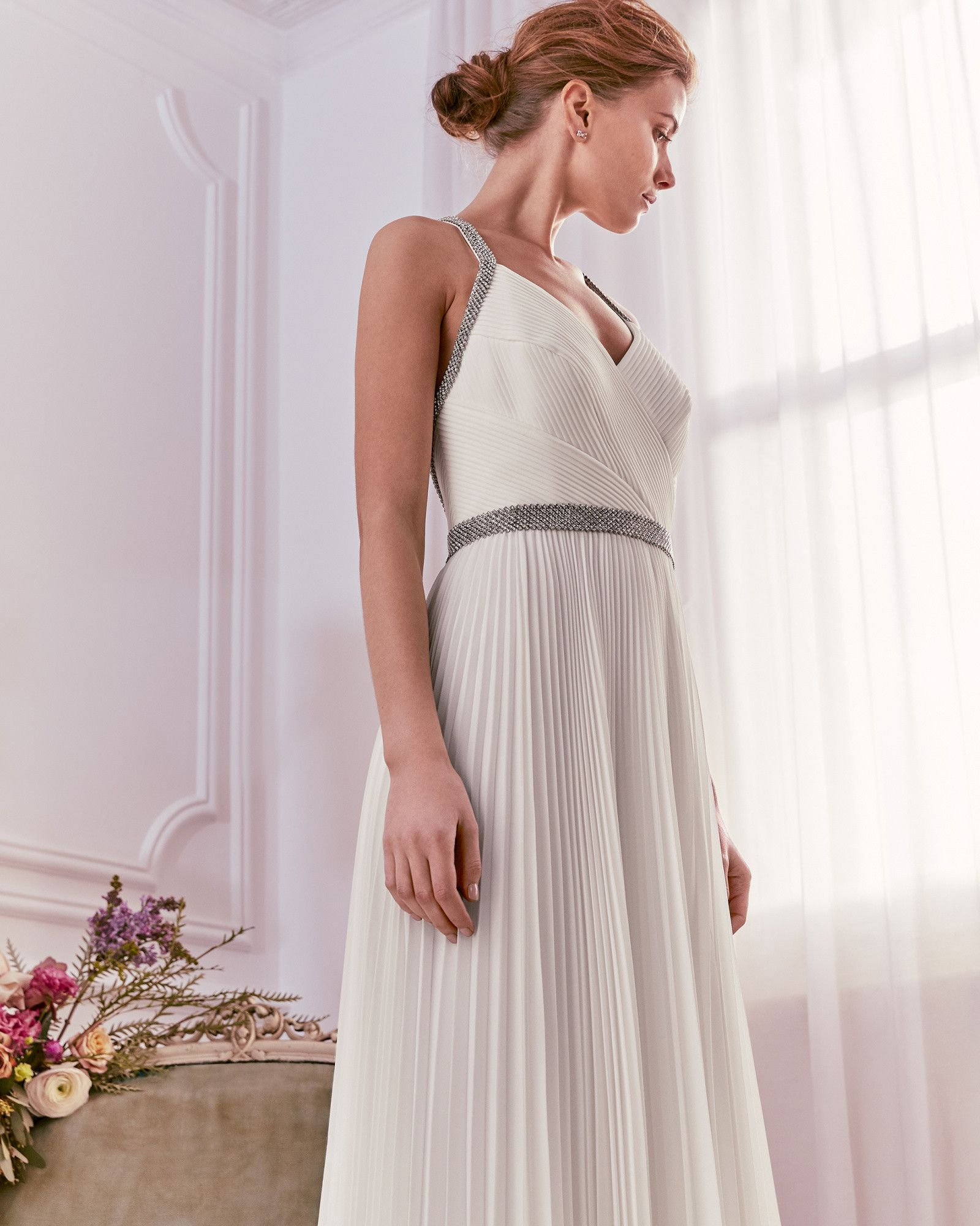 VERITYY Embellished pleated maxi dress TedToToe Casual
