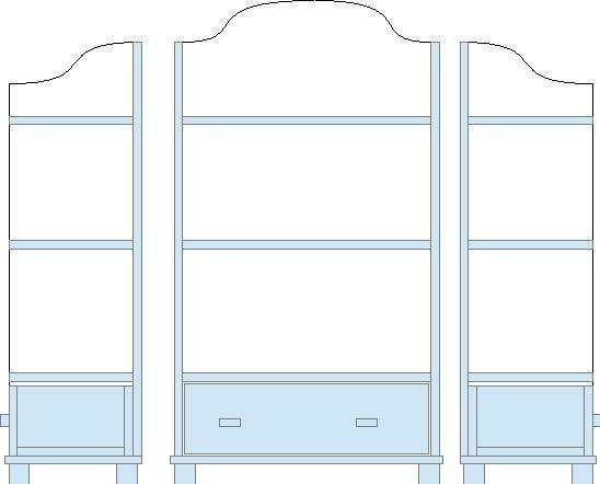 Nostalgia In 1 12 Diy Small Shelf Dollhouse Furniture Pinterest