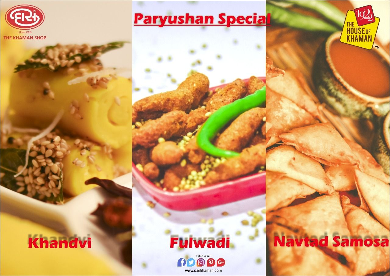 Das Khaman brings green vegetable free Paryushan Special ...