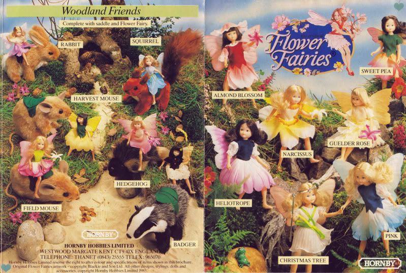 Flower Fairies [Hornby]   Flower fairies, Childhood toys, Childhood  memories 70s
