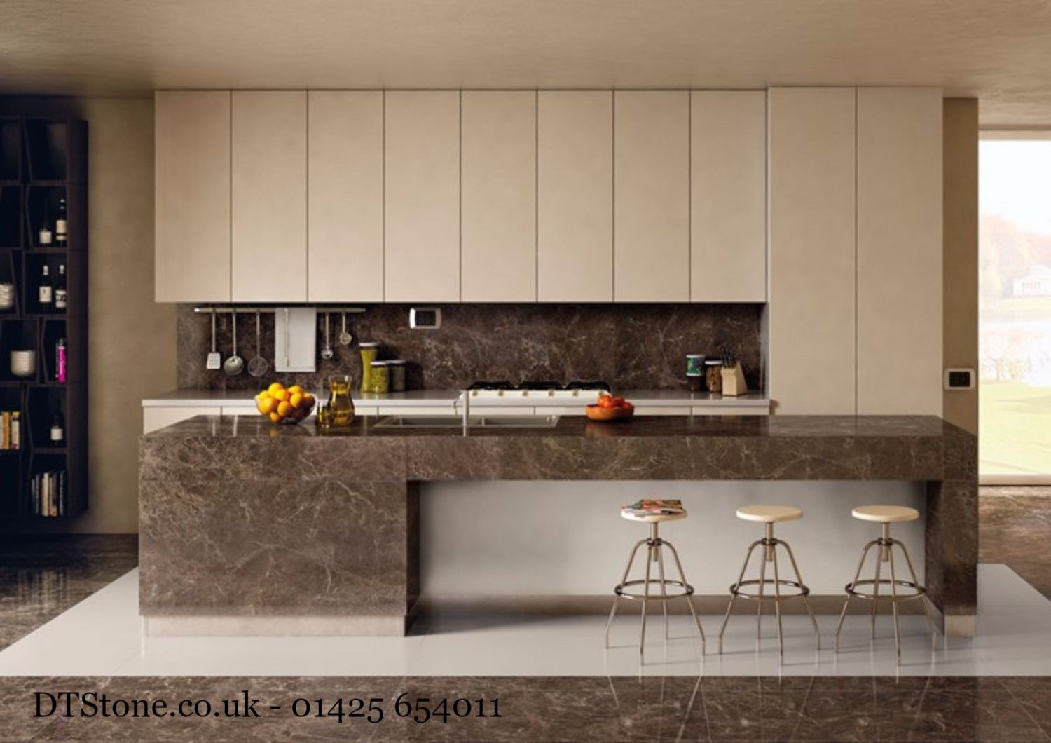 why not create your own kitchen island our lapped marble effect