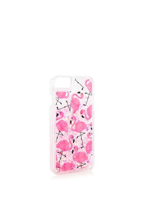 more photos 8f516 d90a7 Flamingo Sequin Glitter iPhone 6/7 Plus Case by Skinnydip ...