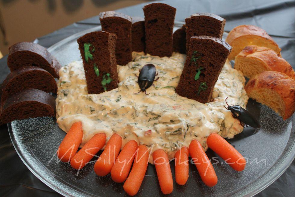 Cemetery Swamp Dip Zombie Apocalypse Birthday Party Pinterest
