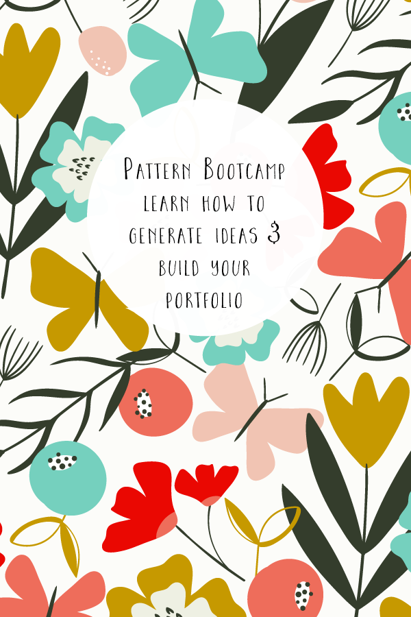 Pattern Bootcamp - Learn how to generate unique ideas to