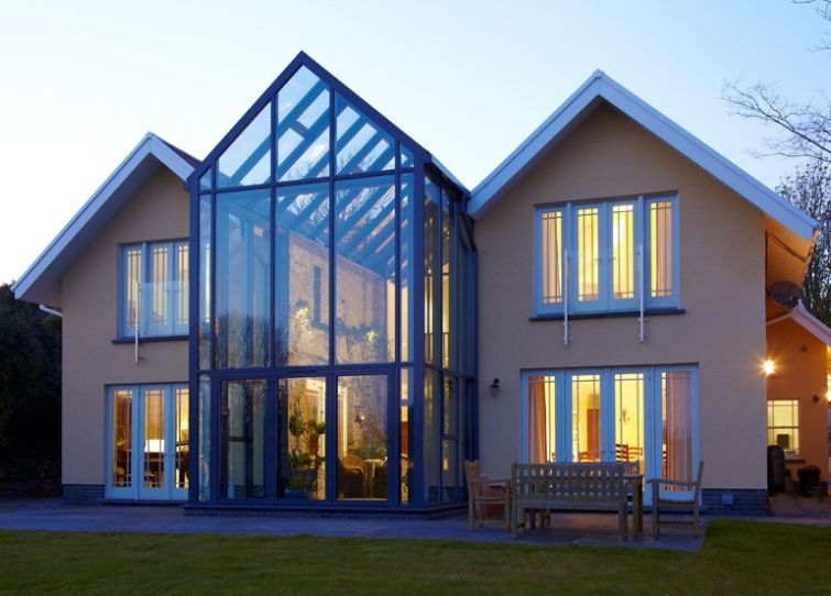 Modern Glass Extensions modern glass extensions | apropos conservatories | exteriors