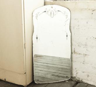 Antique Bathroom Mirror Ideas Etched Bathroom Mirror Vintage