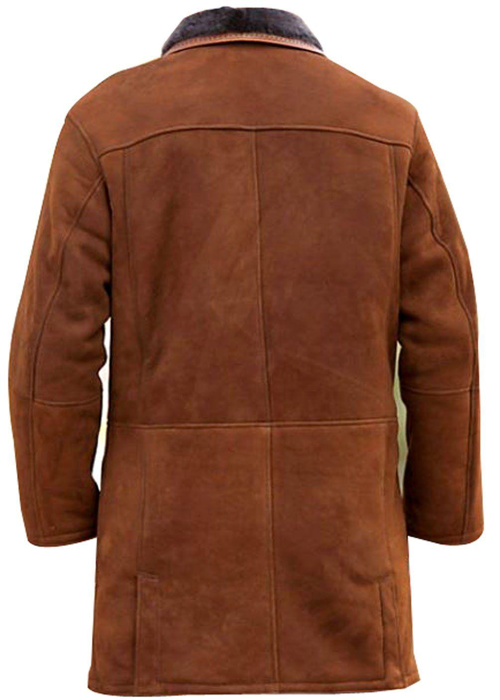 Hollywood Jacket Men's Longmire Sheriff Walt Leather Coat at Amazon Men's Clothing store: