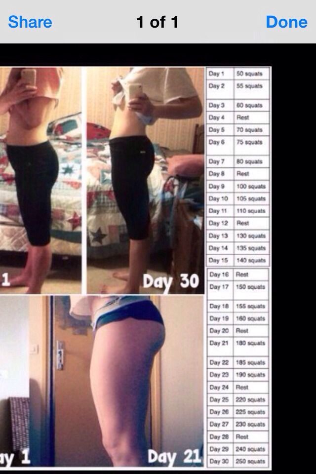 Butt workout! before and after 😉 | food | Butt workout ...