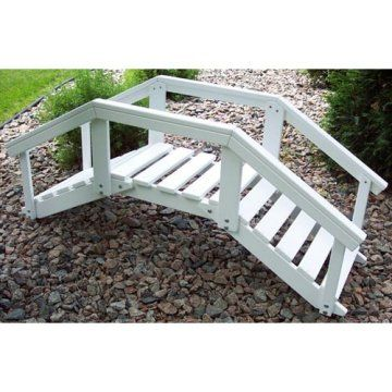 Prairie Leisure 4-ft. Decorative Garden Bridge - Decorative Garden Bridges at Hayneedle