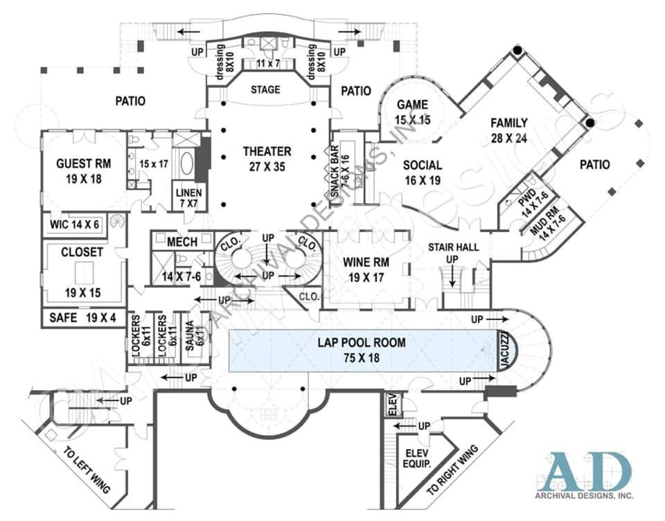 Balmoral House Plan Basement Floor Plan Basement Floor Plans Basement Flooring Basement Flooring Options