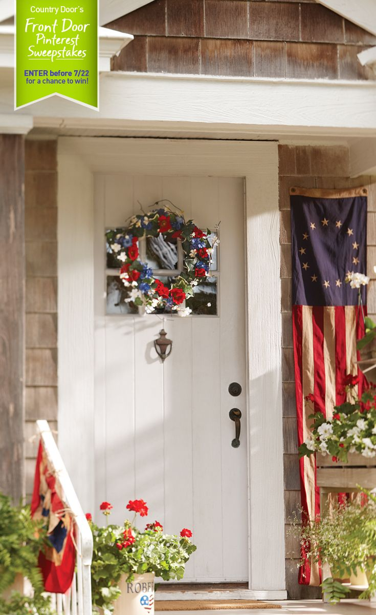 Country Doors Front Door Pinterest Sweepstakes What Does Your