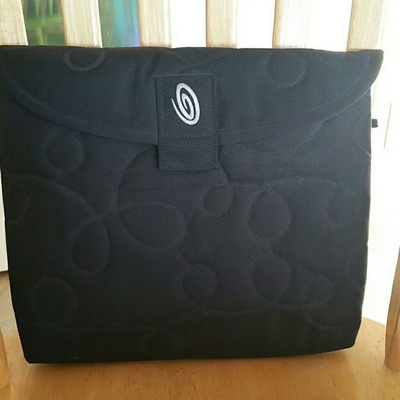 """Laptop/tablet case 13"""" Laptop/tablet case, nice weight, corduroy interior, velcro closure, perfect near new condition. Bags Laptop Bags"""