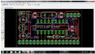 lets make your PCB with PCB design software, Eagle and Proteus ...