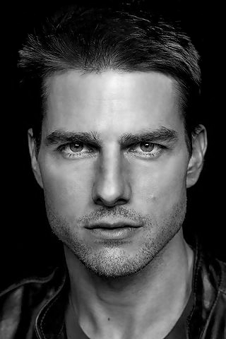 Tom cruise black and white