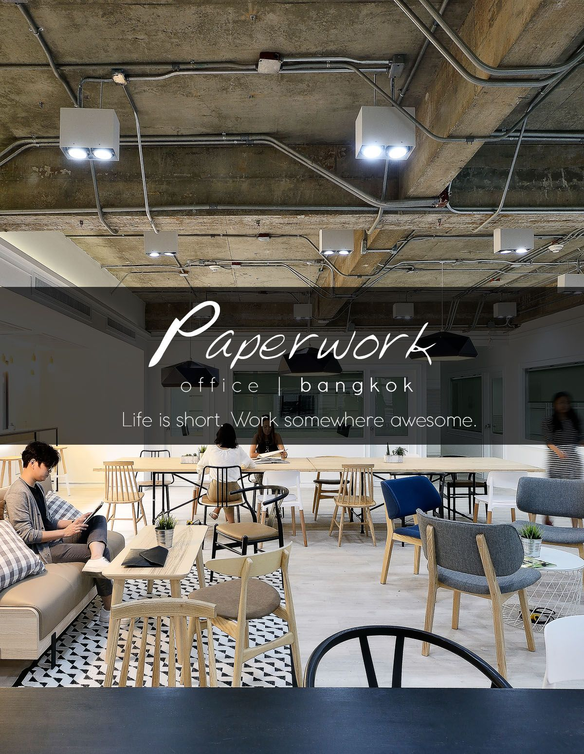 Paperwork Coworking Space Bangkok By Paperspace With Images