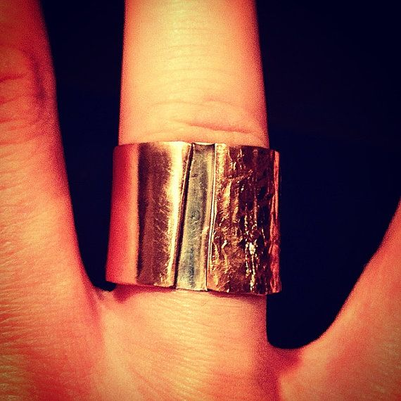 Copper & Silver Handmade Ring (Size 10-11) Logan Trading Co. on Etsy