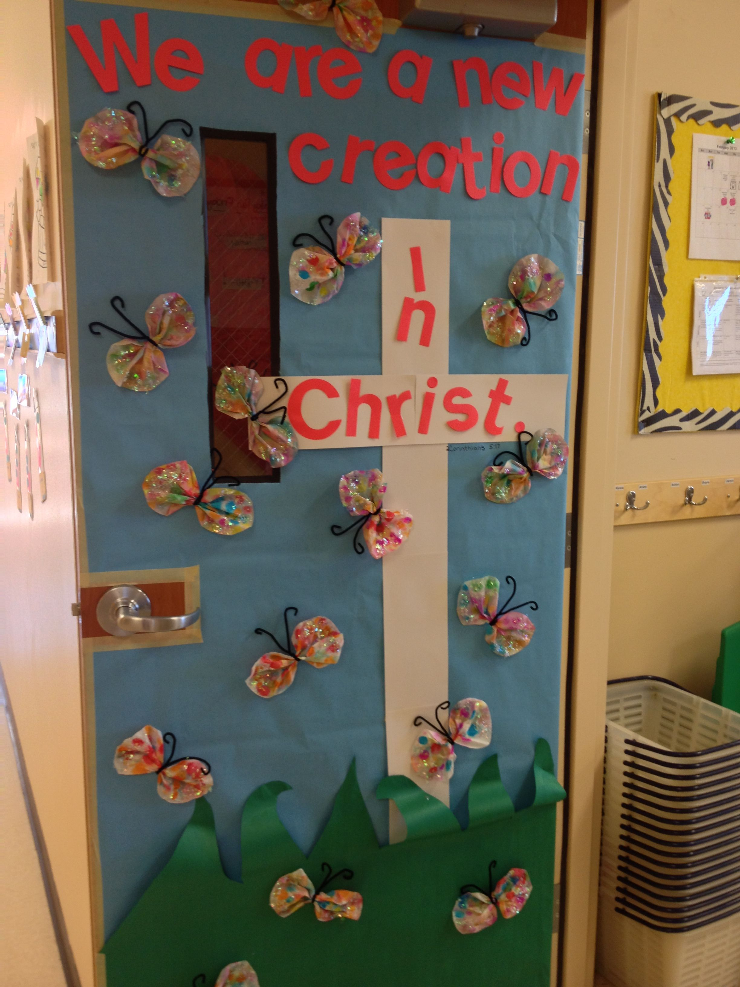 My Classroom Door For March