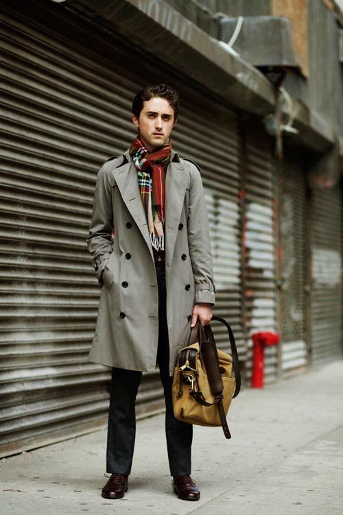 The Anatomy Of A Men's Trench Coat | Trench and Man style
