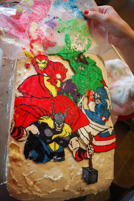 Sandwich A Coloring Page Pic Glass Wax Paper And Trace With Icing Let Harden In Fridge Transfer To Cake I Love Making Our Kids Cakes