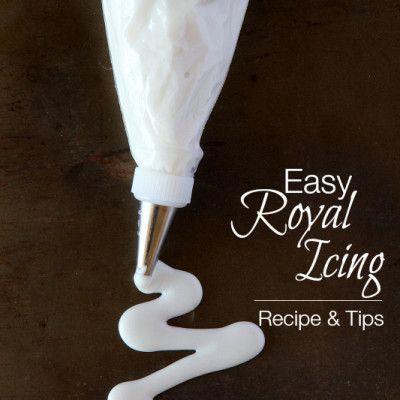 Easy Royal Icing Recipe #royalicingrecipe