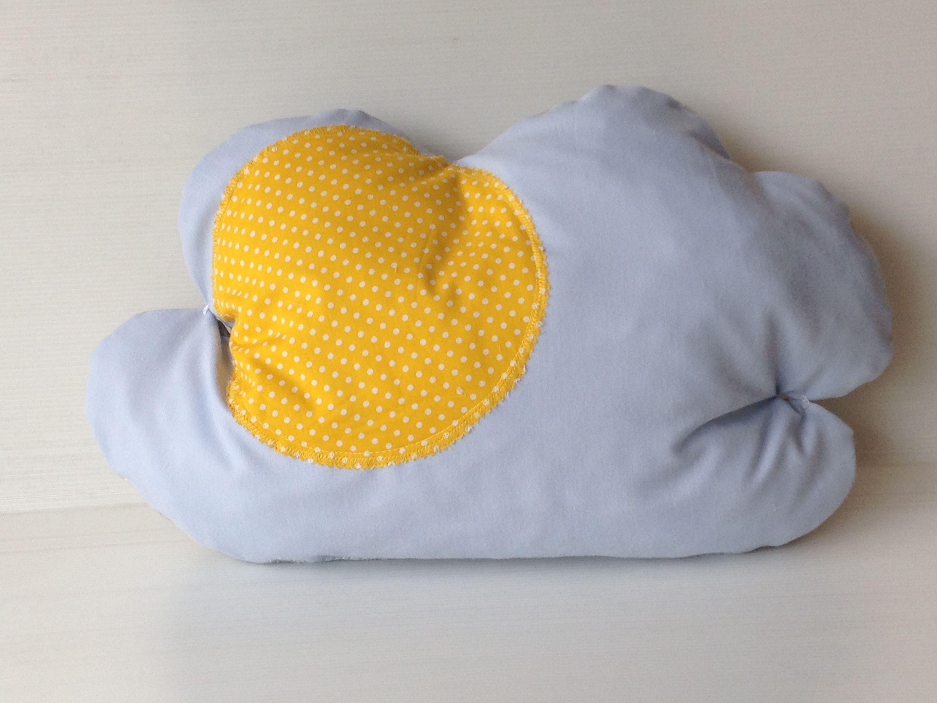cloud cushions - the sunny side