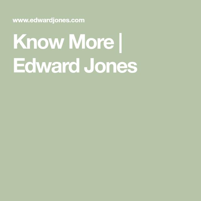 Know More Edward Jones Genetic Information Financial Advisors Unique Business