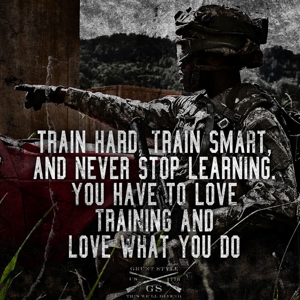 Grunt Style Inspirational military quotes, Motivational