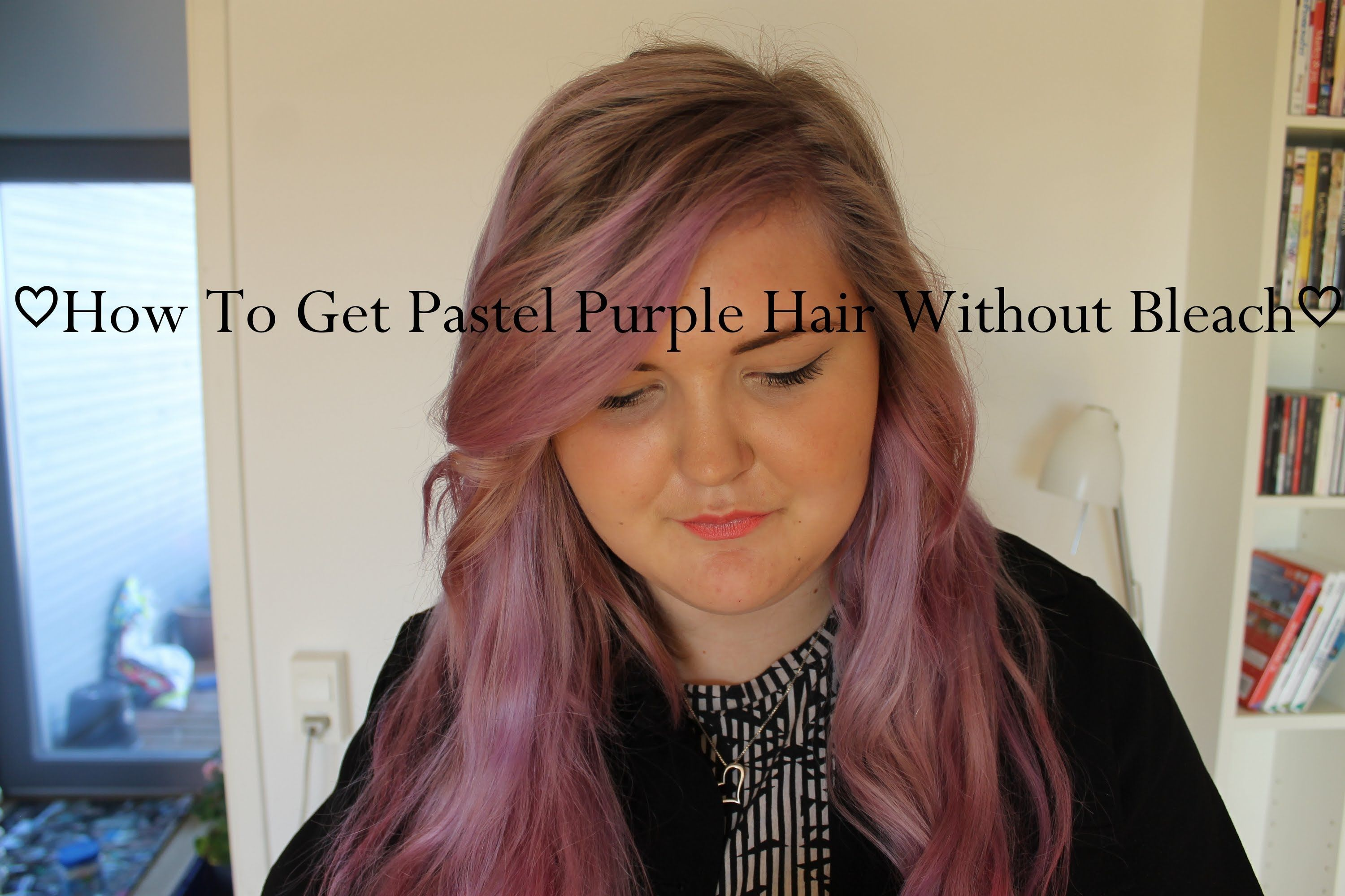 How To Get Pastel Purple Hair Without Bleaching Your Hair Blonde Hair Purple Hair Without Bleaching Pastel Purple Hair Purple Hair