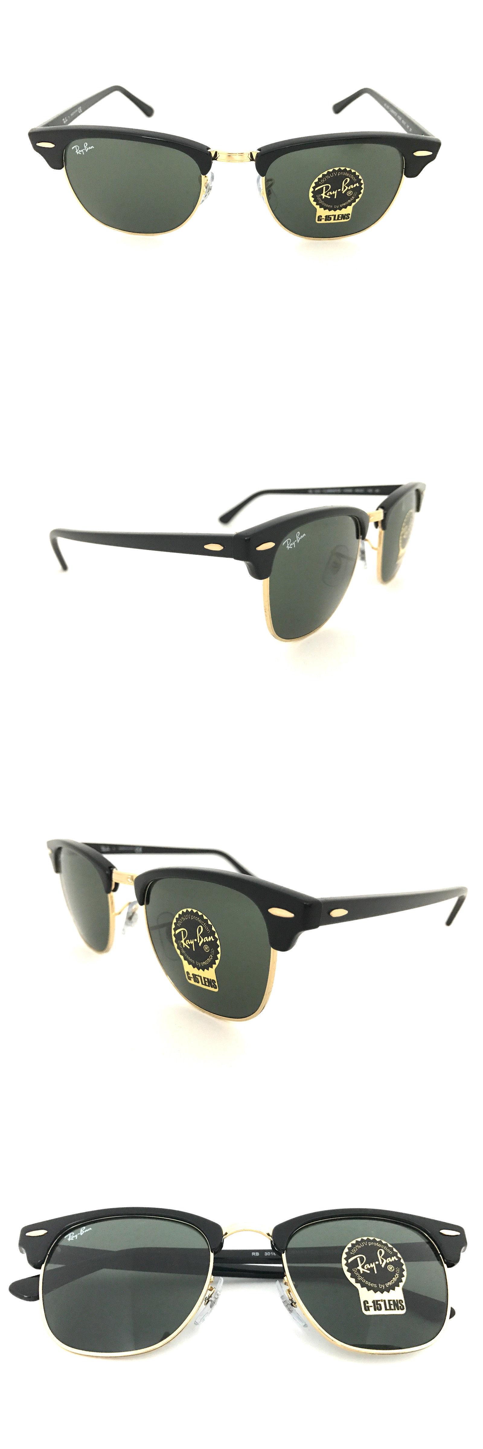 c2aa039c9c00eb reduced ray ban black clubmaster sunglasses rb3016 w0365 ebay 598fe ae137