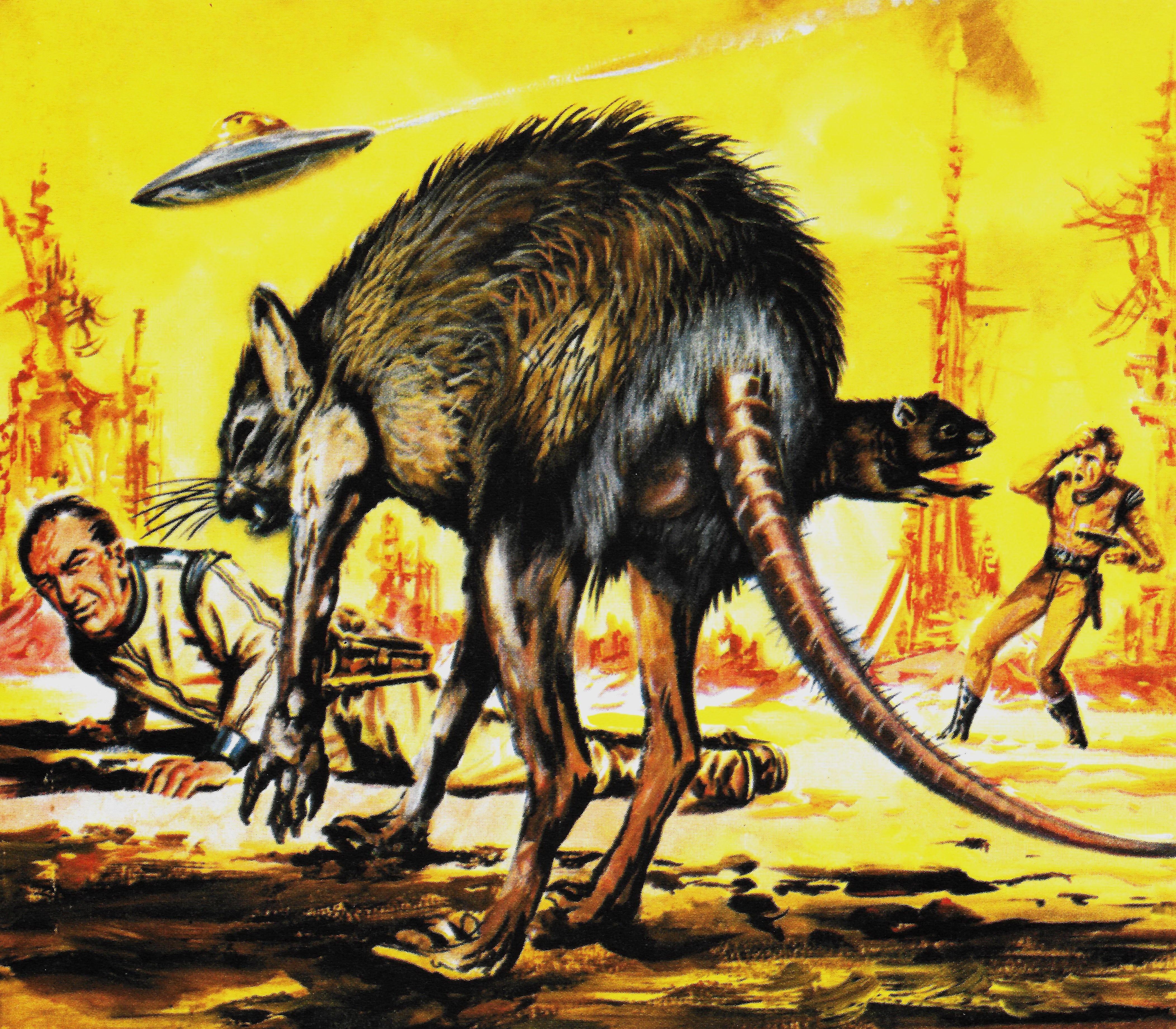 1961 Perry Rhodan: Art, Moose Art, Painting