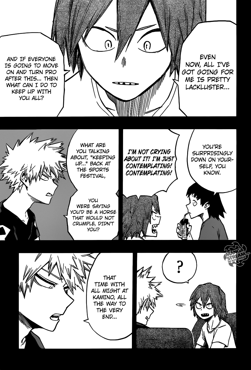 My hero academia 133 page 18 manga stream