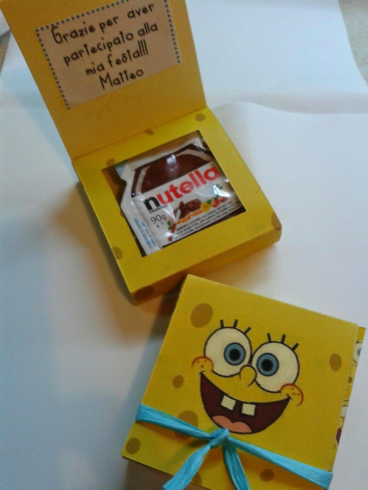 Scatoline Di Spongebob Fatte A Mano Con La Nutella All