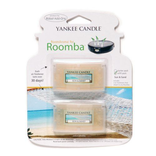 Room Aroma Air Freshener for Roomba Featuring YANKEE CANDLE