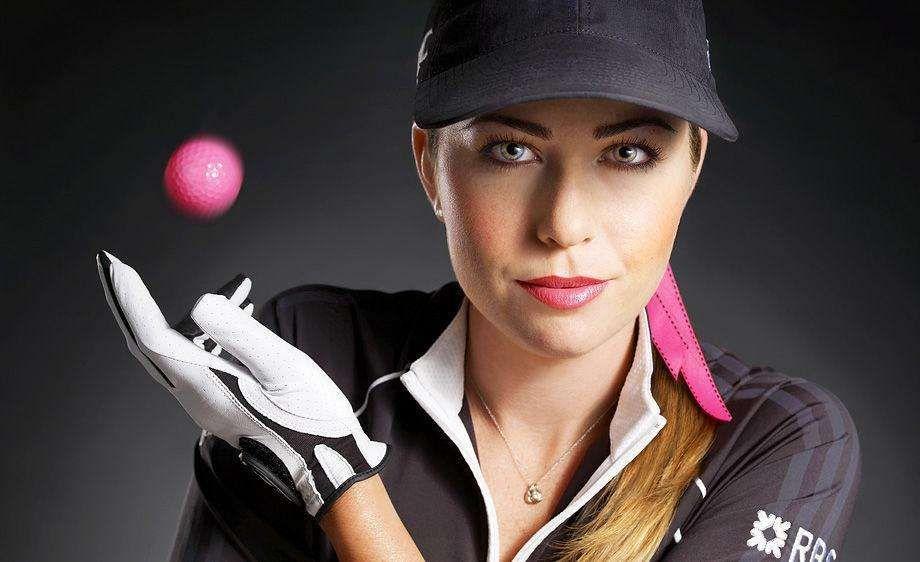 Paula Creamer.United States @ Golf