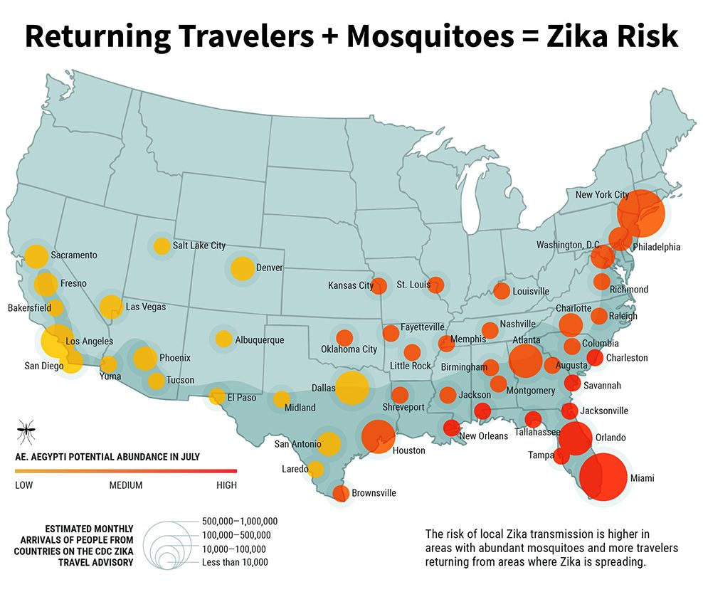 zika map US INSIDE DISEASES HEALTH CONDITIONS Pinterest