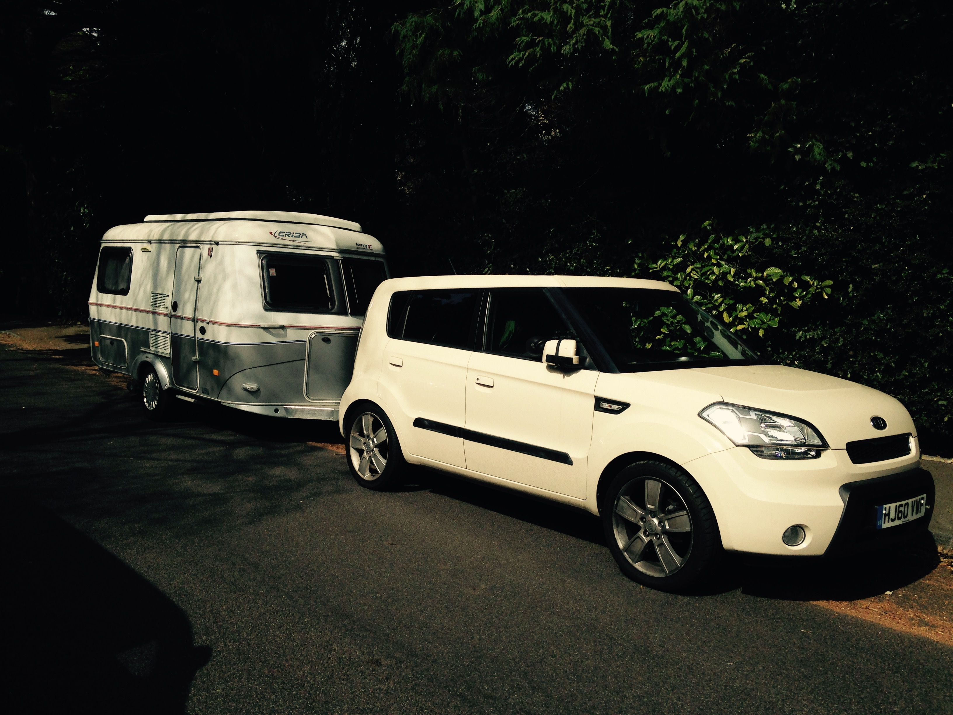 My Kia Soul Shaker And Hymer Eriba Are The Perfect Couple
