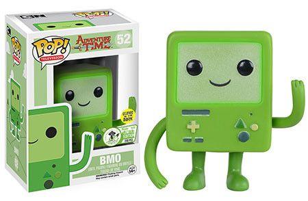 Funko Releasing Eccc Exclusive Glow In The Dark Bmo Pop Vinyl From Adventure Time Funko Pop Toys Funk Pop Funko Pop Vinyl