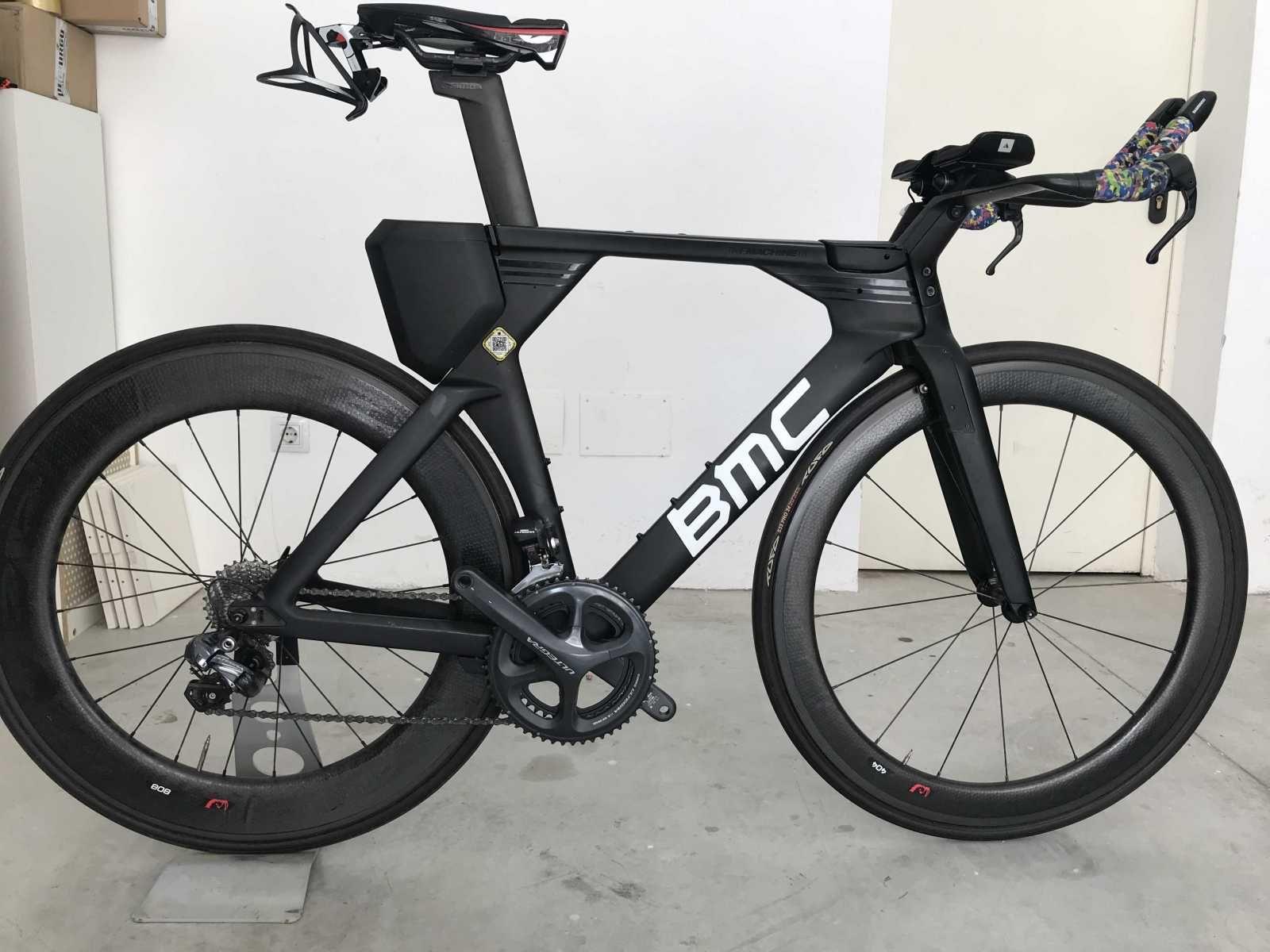 6f10ab557f2 Bicicleta aero de contrarreloj BMC Timemachine 01. Ref: 36154. Talla M. Año