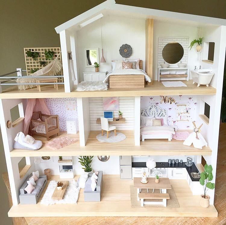 Small Rooms Full Of Big Style. - Fizzy Pop Designs #dollhousefurniture
