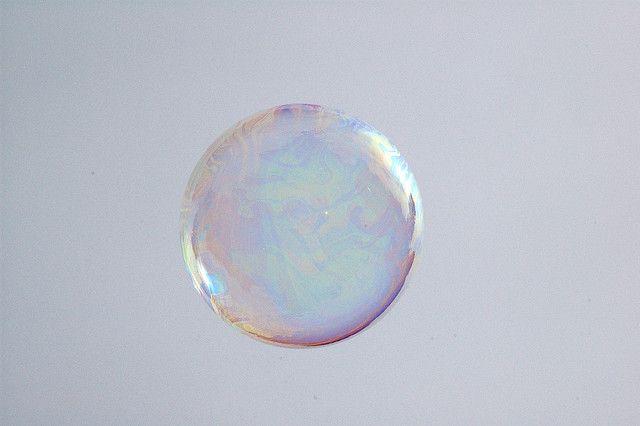 Soap bubble by Raphael Quinet, via Flickr