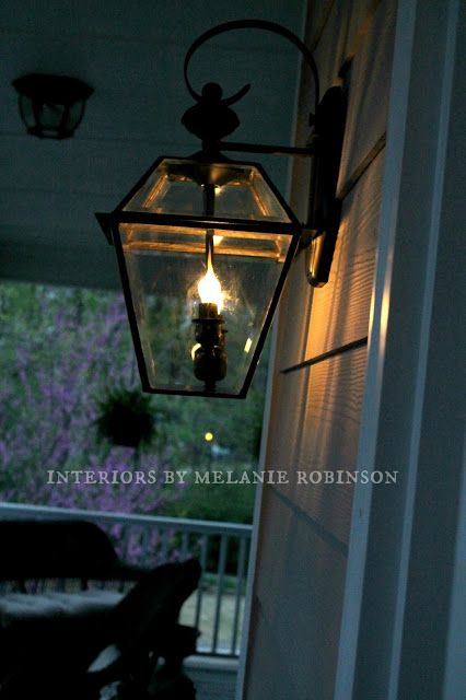 Tutorial On How To Turn Brass Outdoor Lights Into Faux Gas Lanterns The Painted Chandelier Blog Gas Lanterns Street Lamp Lamp Makeover