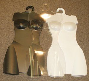Set of 10 CLEAR Body Form/Forms, Ladies Torso/Store/Lingerie ...
