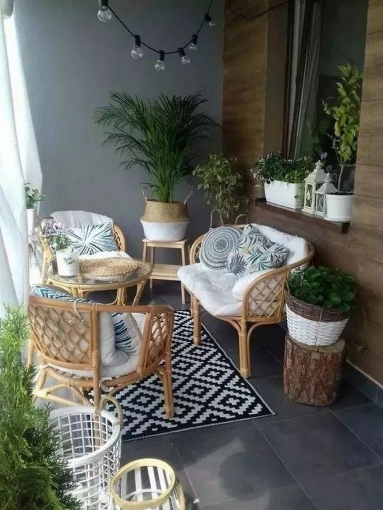 25 small apartment balcony decorating ideas ~ pandacup.org