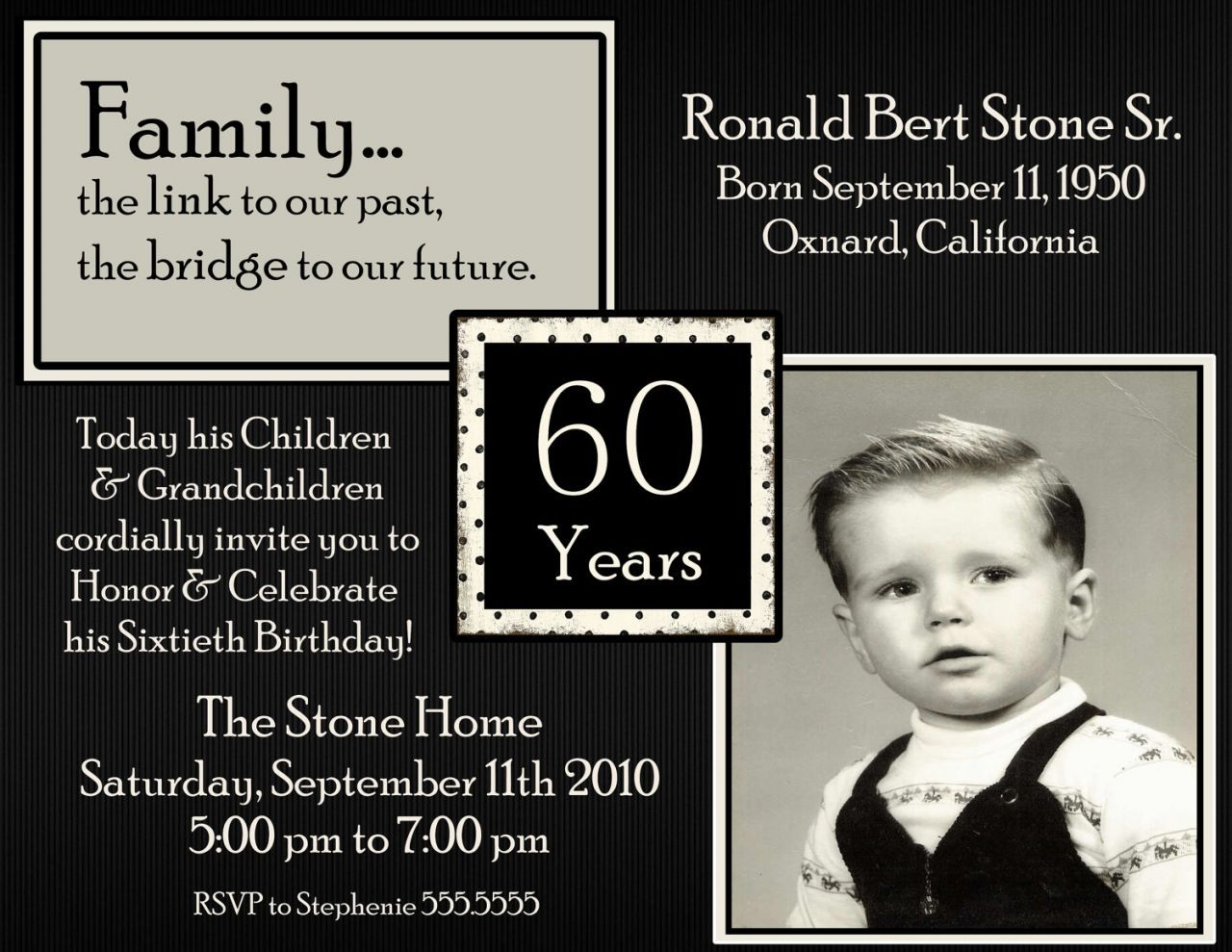Awesome Surprise 60th Birthday Party Invitations Party | FREE ...
