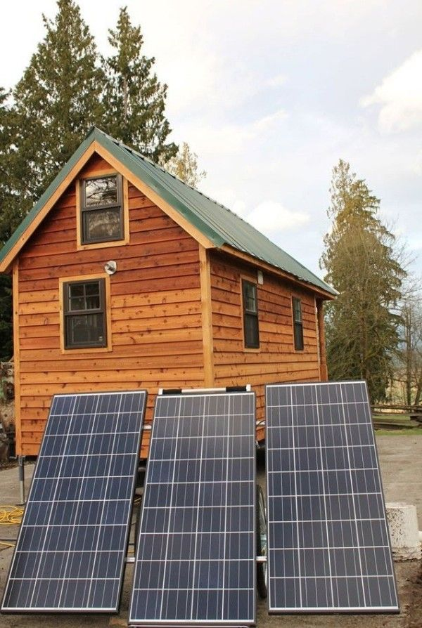 Jeremy And Renee S Tumbleweed Tiny House In Prarieville La With Images Solar Power House Tumbleweed Tiny Homes Solar Panels