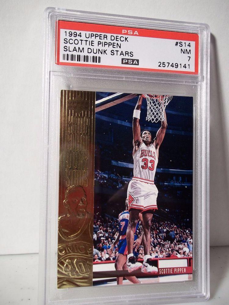 1994 Upper Deck Scottie Pippen PSA NM 7 Basketball Card