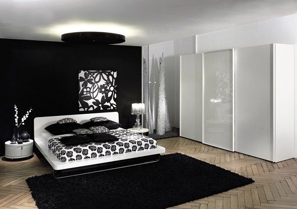 Amazing Black and White Bedroom Interior Designs White bedroom