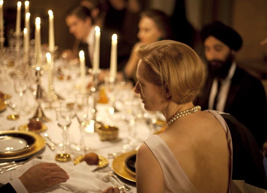Film Feasts: Movie Meals to Give Thanks for (Mostly) | Tilda swinton,  Movies, Pretty table settings